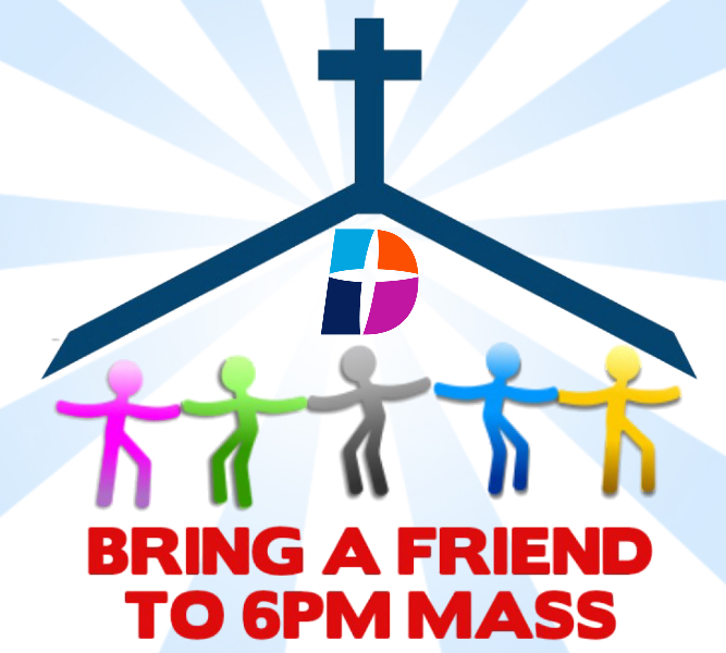 Bring a Friend to Mass